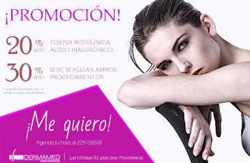 ¡Promoción Ácido Hialurónico y Toxina Botulínica!